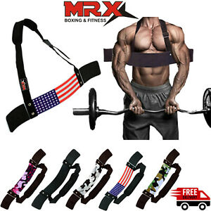 Heavy Duty Arm Isolator Blaster Body Building Workout Bomber Bicep Curl Triceps