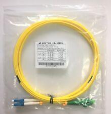 2M LC/LCA LC LC Angled SM Duplex Single Mode Fibre Patch Cable CAB-LCLCA-SM-02