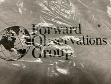 Forward Observations Group Hooded sweat Shirt Grey Size Medium