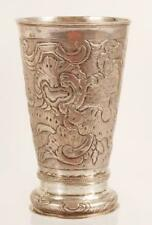 Antique Moscow Russian Silver Beaker, 1760s