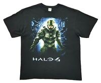 Halo 4 Microsoft 2012 Tee Black Size XL Mens T Shirt Xbox