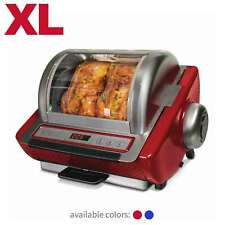 Ronco EZ Store Rotisserie Oven with 15 Pound Capacity, Fully Accessorized