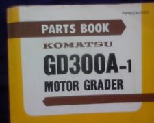 Komatsu Grader GD300A-1, GD300 A-1 Spare parts manual / book GD 300 A 1