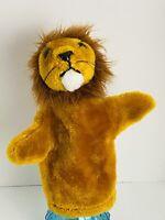Vintage 1977 Dakin Lion Hand Puppet Clean Excellent Condition