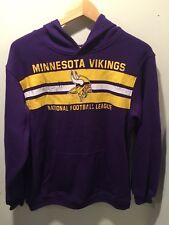 NFL Minnisota Vikings Sweat Shirt Hoodie Youth