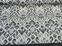 Ziata Indigo Blue Chenille Swavelle Mill Creek Upholstery Fabric By The Yard