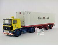 Herpa 071437 Tekno Volvo F10 Container Sattelzug  Auf Achse Lkw 1:50