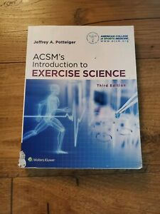 ACSM introduction To Exercise Science (3rd edition)