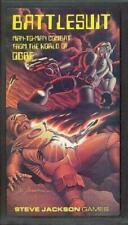 BATTLESUIT Man to Man Combat in the World of OGRE. Steve Jackson Games