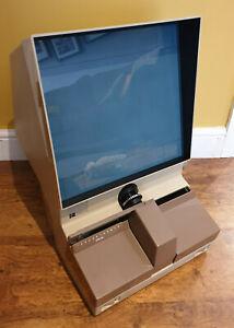 intage 1970's Kodak Microfiche Reader 321A (Swiss Microfilm Retro Electrical)