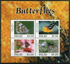 More details for palau butterflies stamps 2020 mnh zebra longwing swallowtail butterfly 4v m/s i