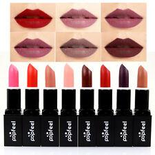 8 Colors Popfeel Makeup Waterproof Matte Velvet Lipstick Long Lasting Lip Gloss,