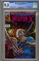 Marvel Comics Presents 81 CGC 9.2 Weapon X Wolverine Uncanny X-Men 1st Origin