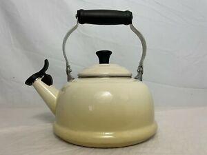 White Le Creuset Tea Pot