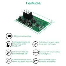 SONOFF SV WIFI Switch Socket Module DC 5V-24V APP Remote Control for IOS Android