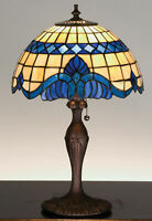 Meyda Tiffany 31201 Stained Glass / Tiffany Accent Table Lamp - Tiffany Glass