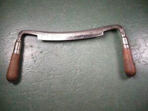ANTIQUE OLD VINTAGE WOODWORKING TOOLS RARE SMALL DRAWKNIFE 6 INCH