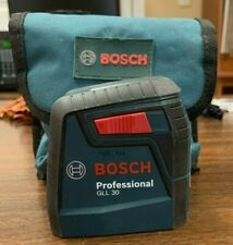 Bosch Self-Leveling Cross-Line Red-Beam Professional GLL 30 Laser Level