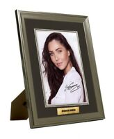 """Jessica  Green """"The Outpost"""" Hand Signed Framed Tribute Print Great Gift"""