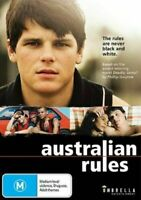 Australian Rules (DVD) The Rules are Never Black and White [Region 4] NEW/SEALED