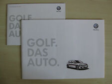 Volkswagen Golf UK Sales Brochure (2012), Inc Price/Spec List