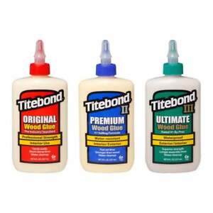 Titebond Wood Glue Selection Pack - Original, Premium and Ultimate