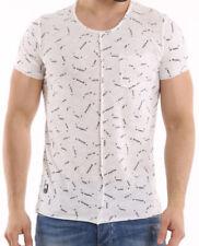 Figurbetonte Halbarm Herren-T-Shirts mit Motiv