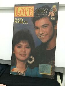Love Story Gary & Maricel Weekly Mag Komiks Phils Comics #761 Year 1986
