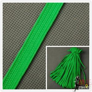 Bright Green Synthetical Silk Ito Sageo Cord Tsukamai For Japanese Katana Sword