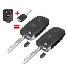 2Pcs 3Buttons Keyless Entry Car Remote Flip Chip 63 Key Fob For CWTWB1U345