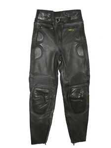 Modeka Herren Motorrad-Stiefelhose Leder Gr.48    Bitte Maßangaben beachten !