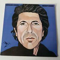 Leonard Cohen - Recent Songs - Vinyl LP UK 1st Press EX/NM