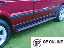 RANGE ROVER P38 BRAND NEW PAIR OF BLACK RUBBER TREAD SIDE STEPS STC8505AA