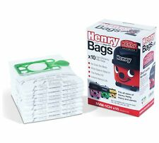 10 x GENUINE HENRY XTRA HVX200a Numatic Vacuum Cleaner Cloth Hoover Bags