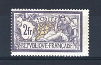 """FRANCE STAMP TIMBRE YVERT 122 """" MERSON 2F VIOLET ET JAUNE """" NEUF x TB SIGNE T199"""