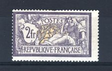 "FRANCE STAMP TIMBRE YVERT 122 "" MERSON 2F VIOLET ET JAUNE "" NEUF x TB SIGNE T199"