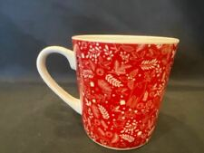 Starbucks - Coffee Mug Red With Fox, Deer, Bird, Rabbit Design - 2019