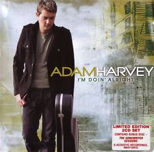 ADAM HARVEY I'm Doin' Alright 2CD NEW