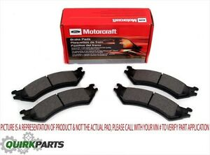 2007-2014 Ford Mustang Shelby GT500 Front Wheel Brake Pads Right & Left OEM NEW