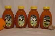 4-1 lb jars RAW Orange Blossom Honey Pure Natural RICH FLAVOR, fresh supply