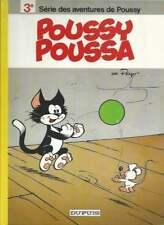PEYO . POUSSY N°3 . EO . 1977 . POUSSY POUSSA .