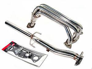 OBX Racing Exhaust Header Manifold Fits 2007-2012 R56 Mini Cooper Base 1.6L 2pcs