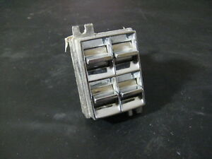 68 69 70 71 72 73 74 75 76 Cadillac Driver Power Window Master Gang Switch