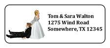 Personalized Wedding Mailing Address Label