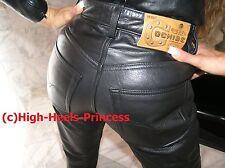 "Original ""Diesel"" Kult Lederhose Winnetou Cochise wie 501 Pantaloni W26 Rarität"