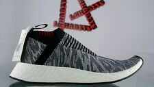NEW adidas NMD CS2 Glitch Black Red White BZ0515 Sneakers Running Shoes Size 8.5