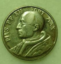Pope Pius XII Silvered Medal