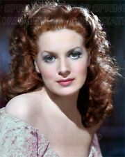 MAUREEN O'HARA PORTRAIT #1 5 DAYS! 8X10 BEAUTIFUL COLOR PHOTO BY CHIP SPRINGER