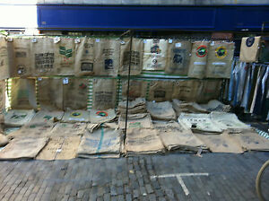 Free Delivery 12 Used Coffee Sacks