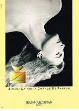 PUBLICITE ADVERTISING 034   1983   JEAN-MARC SINAN   parfum